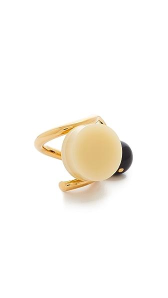 Marni Resin Ring - Yellow
