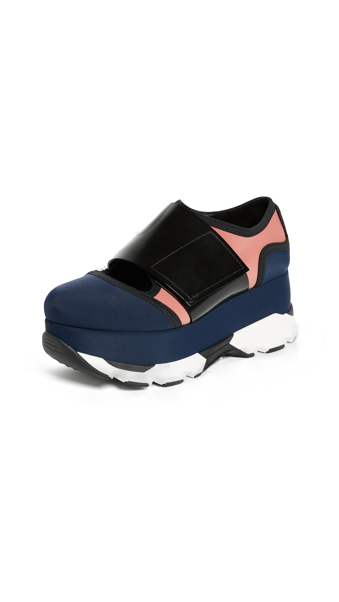 Marni Platform Sneakers - Eclipse/Quartz/Black