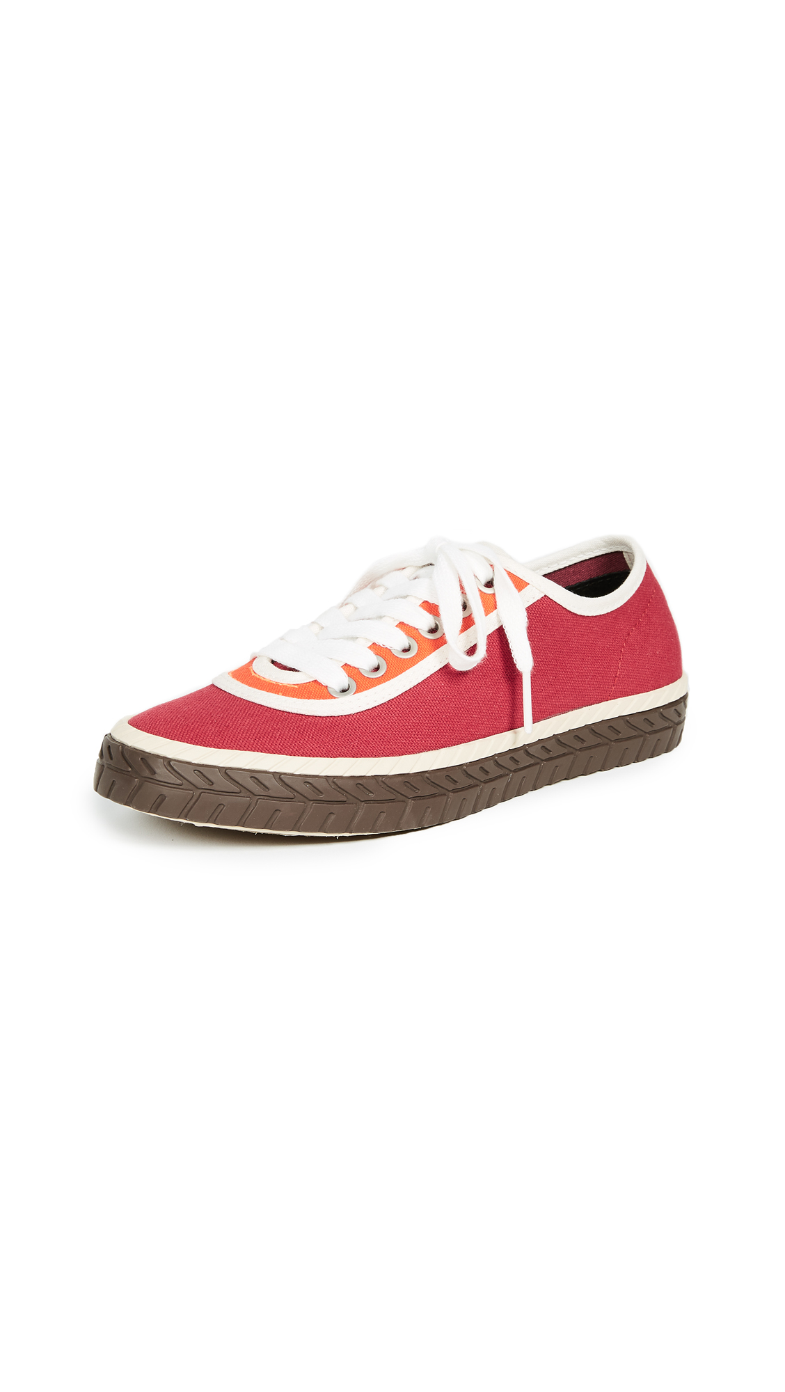 Marni Classic Sneakers - Lipstick Orange