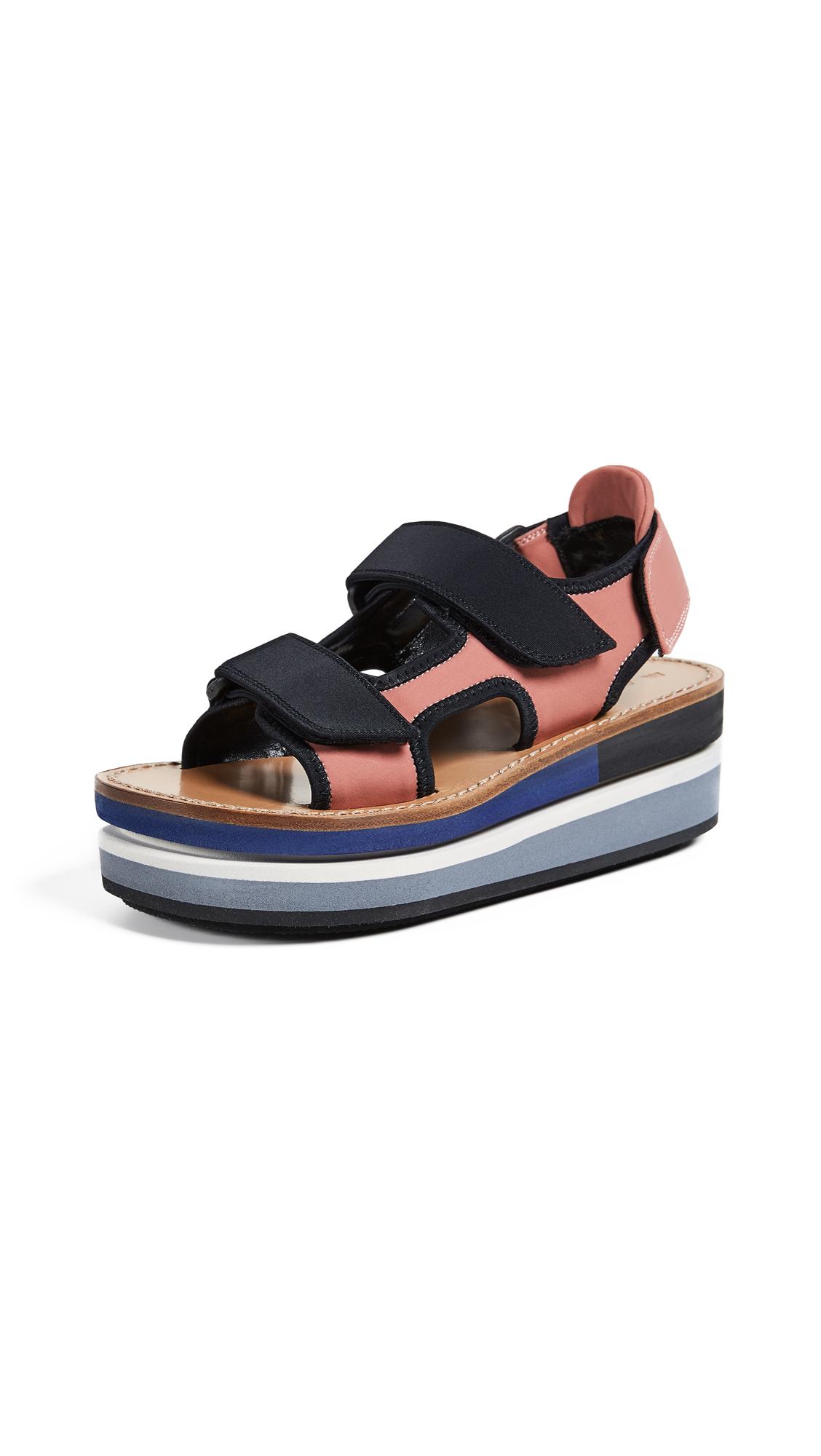 Marni Platform Sandals - Quartz