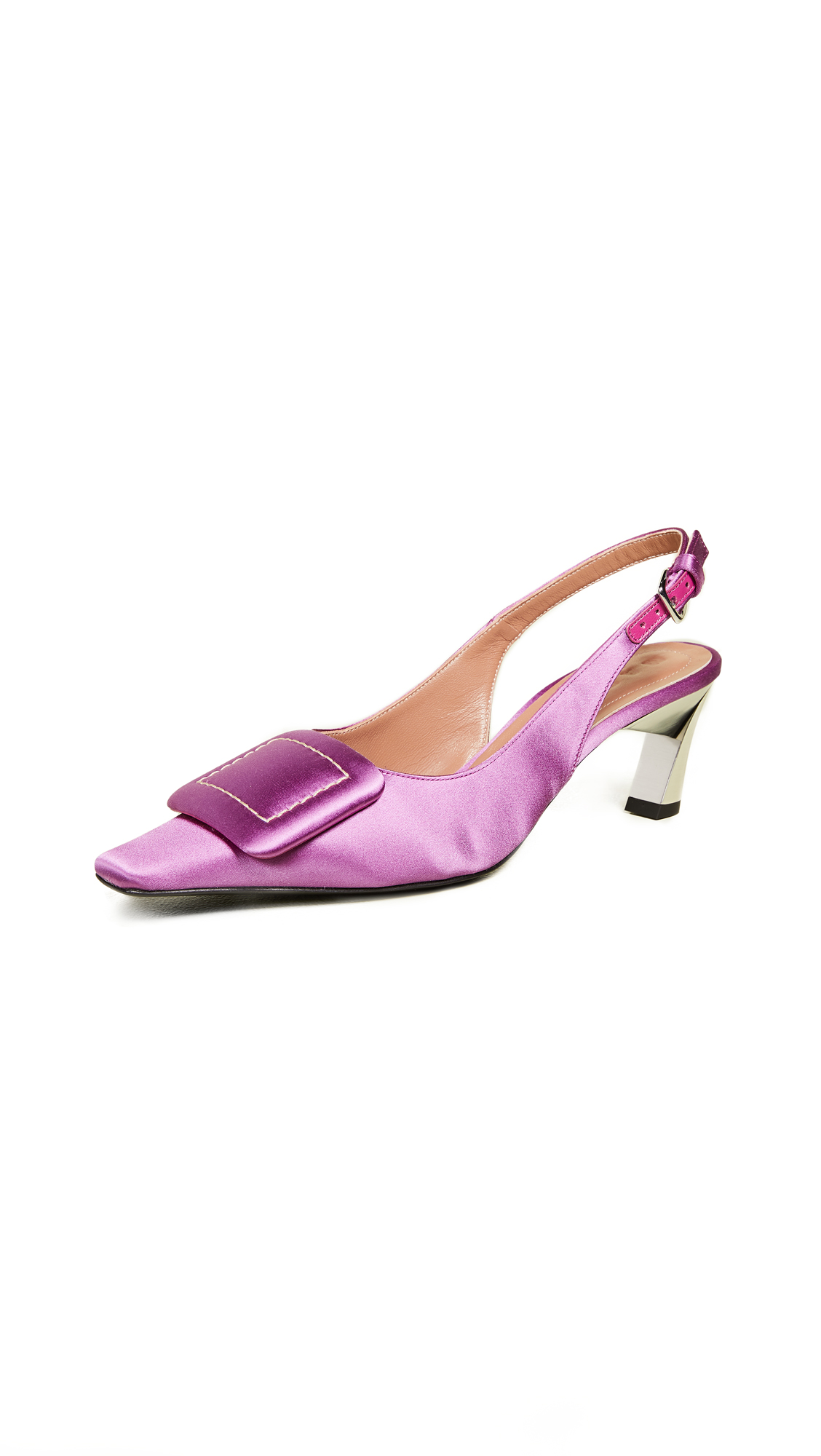 Marni Sling Back Pumps - Lipstick