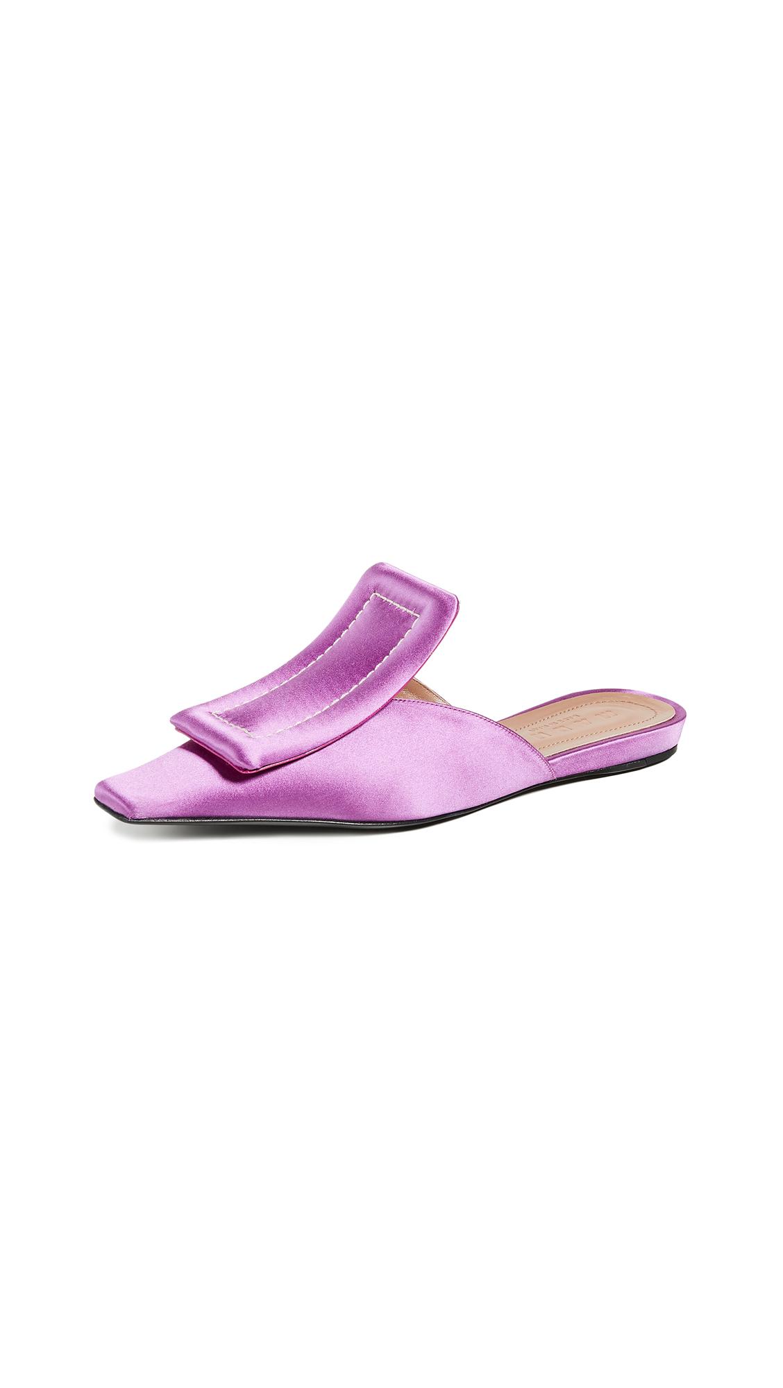Marni Sabot Mules - Purple