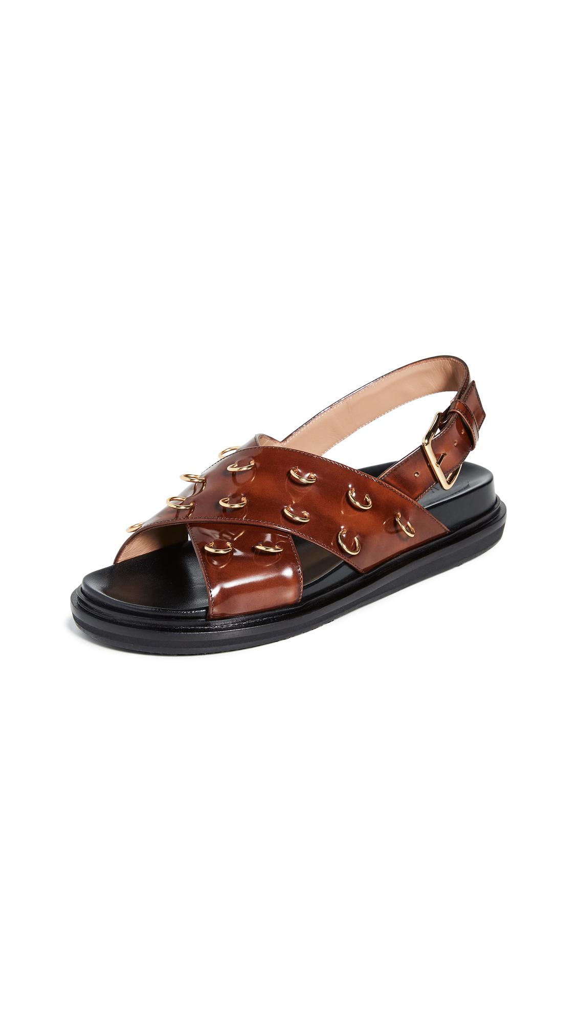 Buy Marni online - photo of Marni Fussbett Sandals
