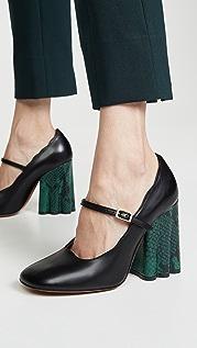 Marni Туфли-лодочки в стиле «Мэри Джейн»