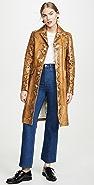 Marni Leather Snake Coat