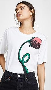 Marni Футболка с цветком