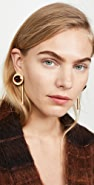 Marni Metal and Resin Earrings