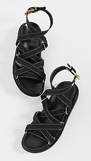 Marni 环绕式凉鞋