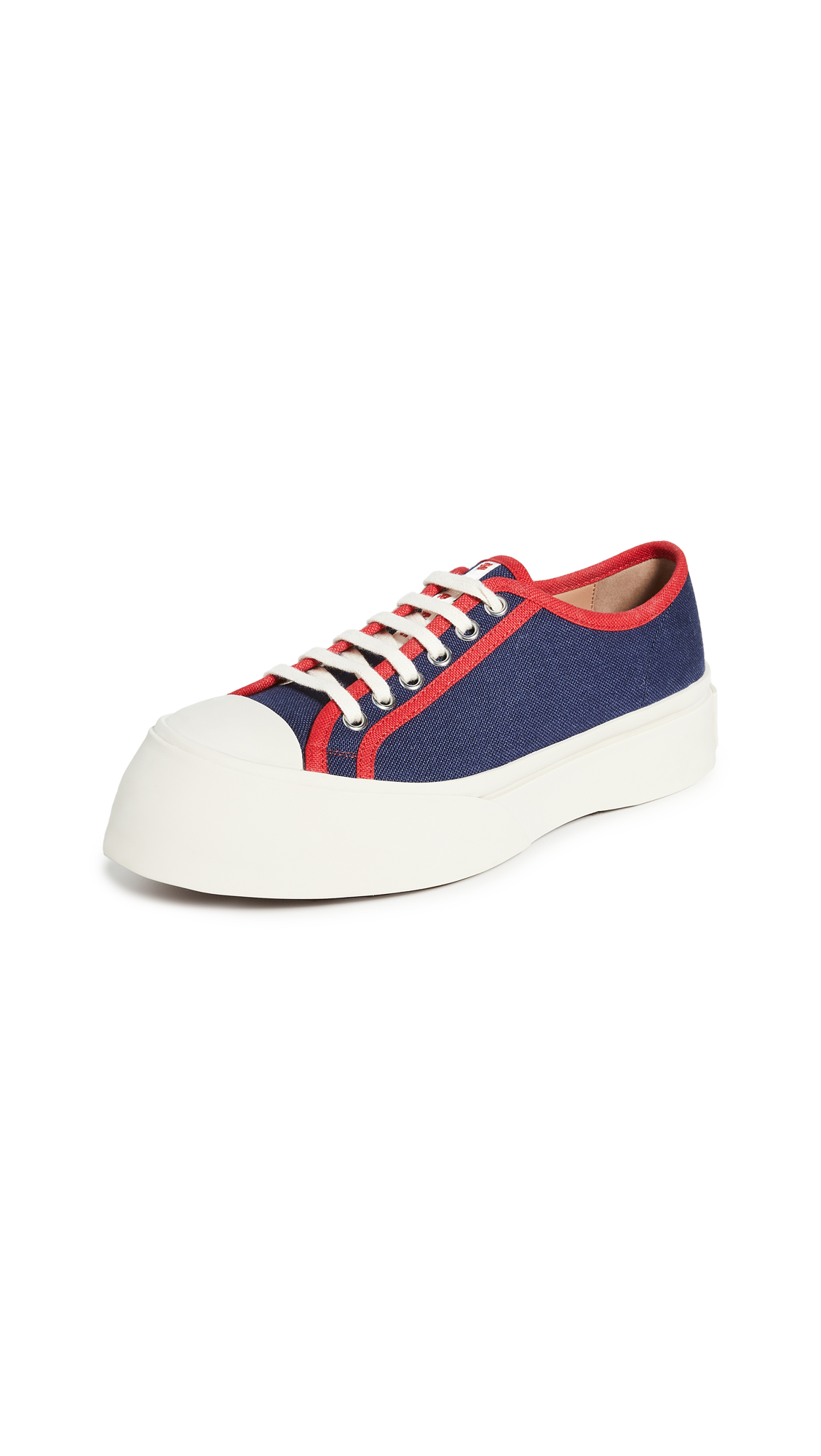 Buy Marni online - photo of Marni Platform Lace Up Sneakers