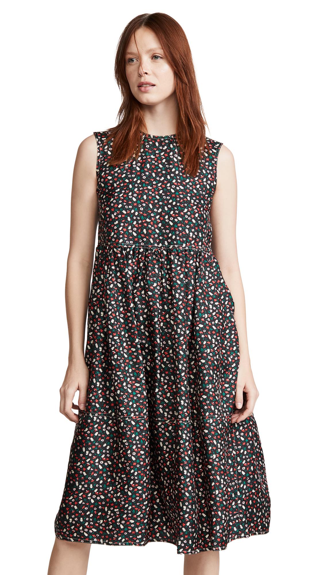 Buy Marni Sleeveless Floral Midi Dress online beautiful Marni Clothing, Dresses