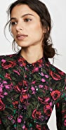 Marni Floral Button Down Blouse