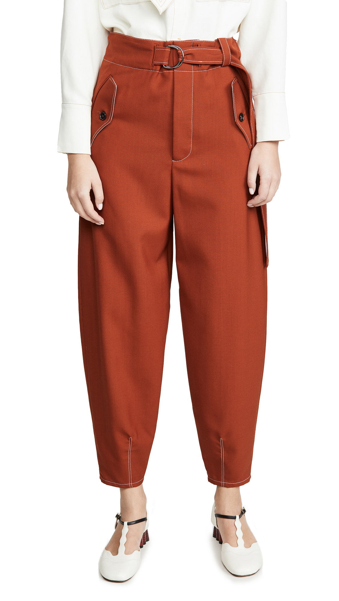 Buy Marni online - photo of Marni Belted Trousers