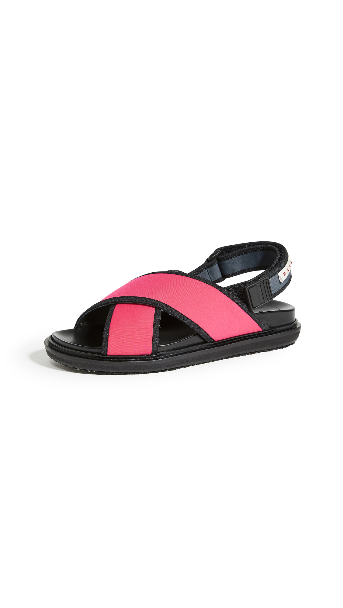 Marni Sporty Fussbett Sandals - 40% Off Sale