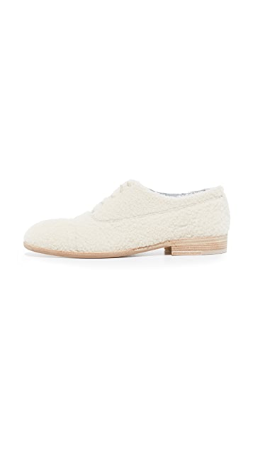 Maison Margiela Shearling Oxfords