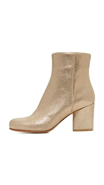 Maison Margiela Light Brushed Effect Booties