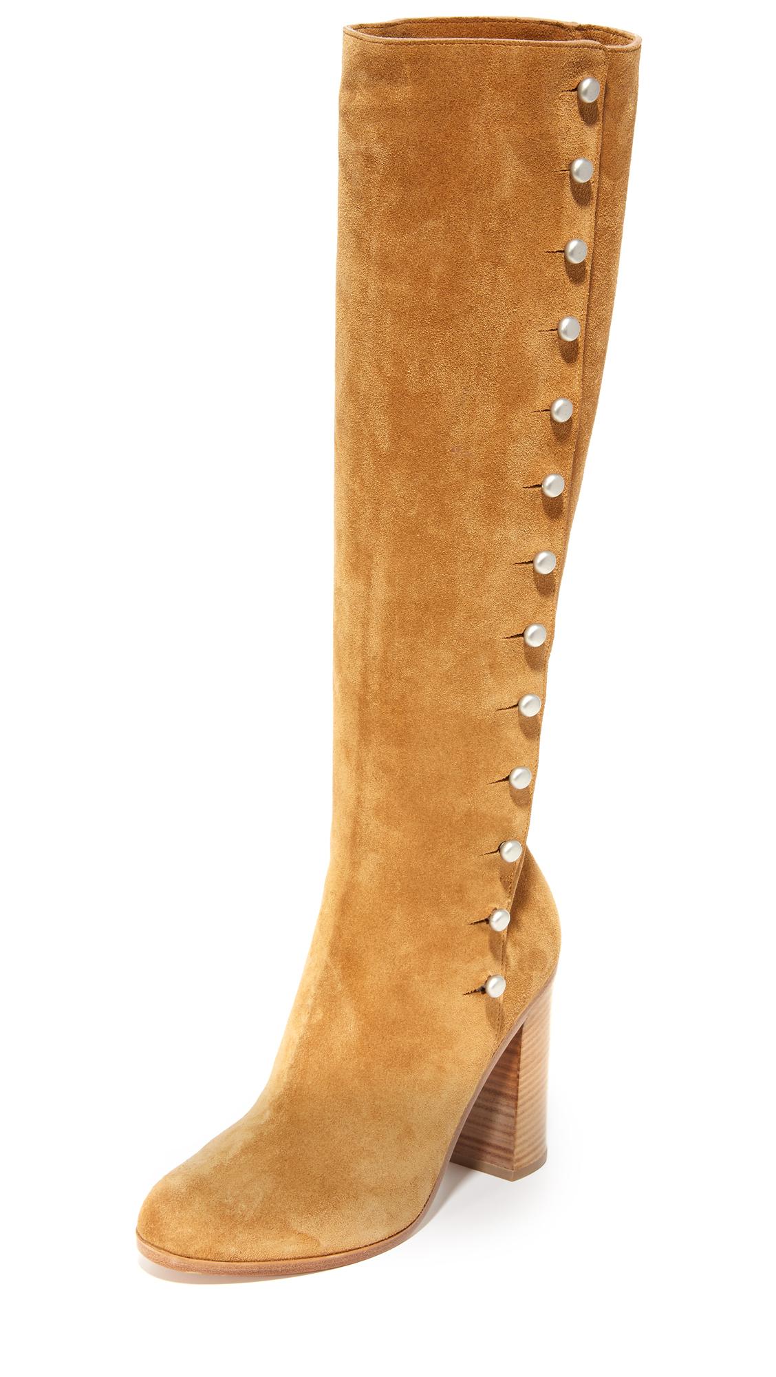 Maison Margiela Suede Boots - Brown