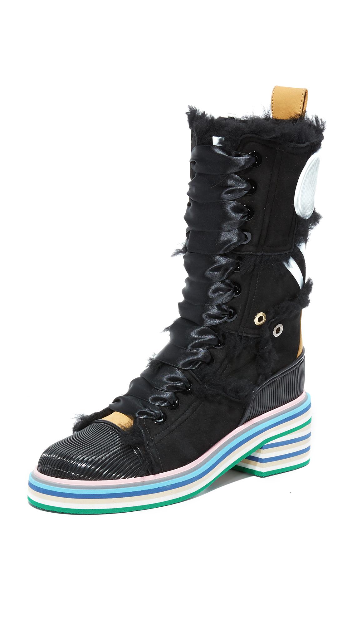 Maison Margiela Boots - Black/Camel/Black