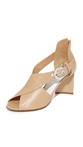 Maison Margiela Open Toe Sandals In Nude