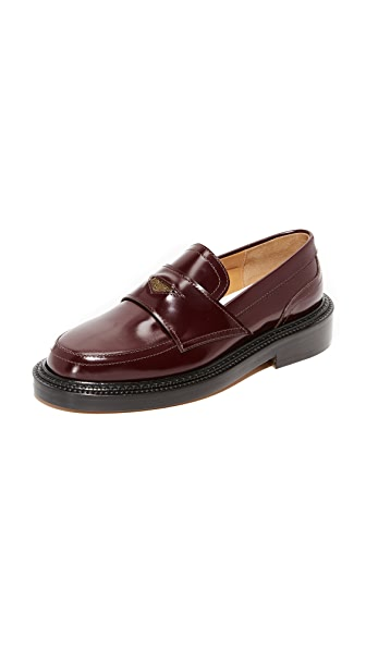 Maison Margiela Loafers - Bordeaux