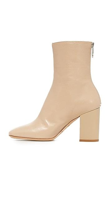 Maison Margiela Cutout Heel Ankle Booties