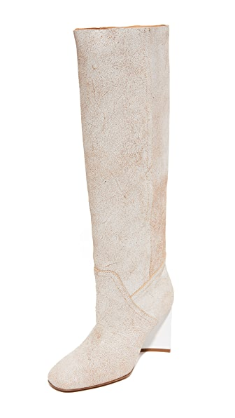 Maison Margiela Shaft Boots - White