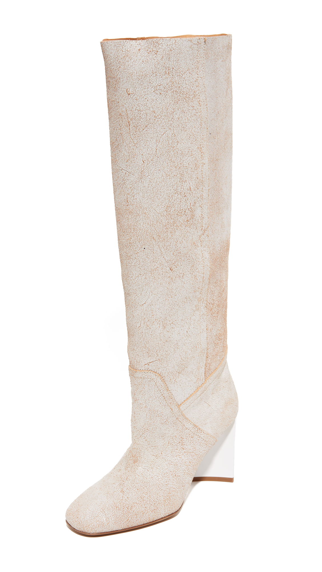 Maison Margiela Shaft Boots - White