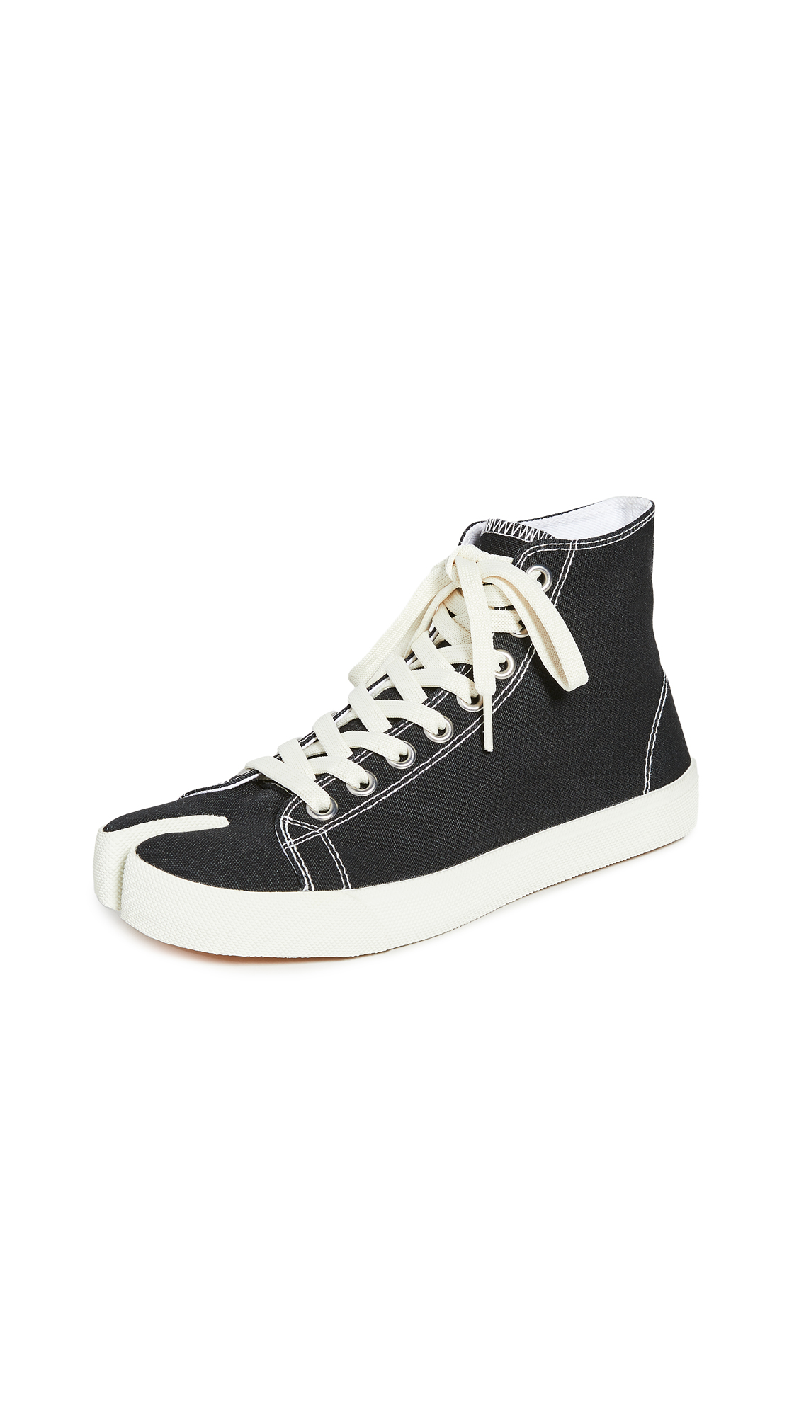 Buy Maison Margiela online - photo of Maison Margiela Tabi High Top Sneakers