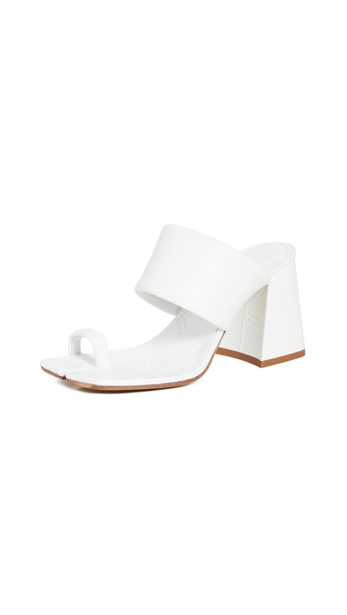 Maison Margiela Chunky High Heeled Sandals - 60% Off Sale