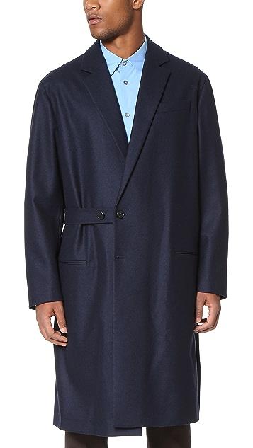 Marni Wool Felt Wrap Coat