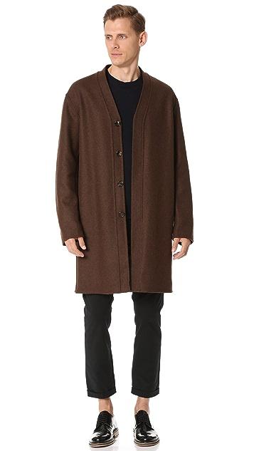 Marni Double Face Wool Felt Coat