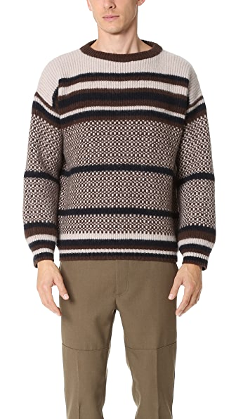 Marni Striped Jacquard Sweater