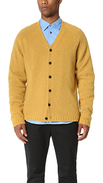 Marni Brushed Alpaca Cardigan
