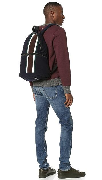 Marni Stripe Wool Backpack