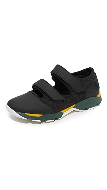 Marni Neoprene Open Sneakers
