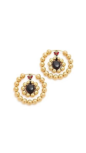 Marni Earrings with Resin