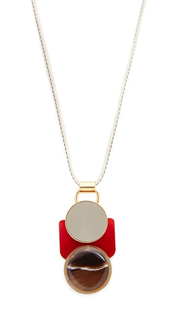 Marni Resin Pendant Necklace