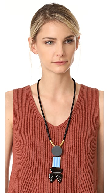 Marni Resin Tie Necklace