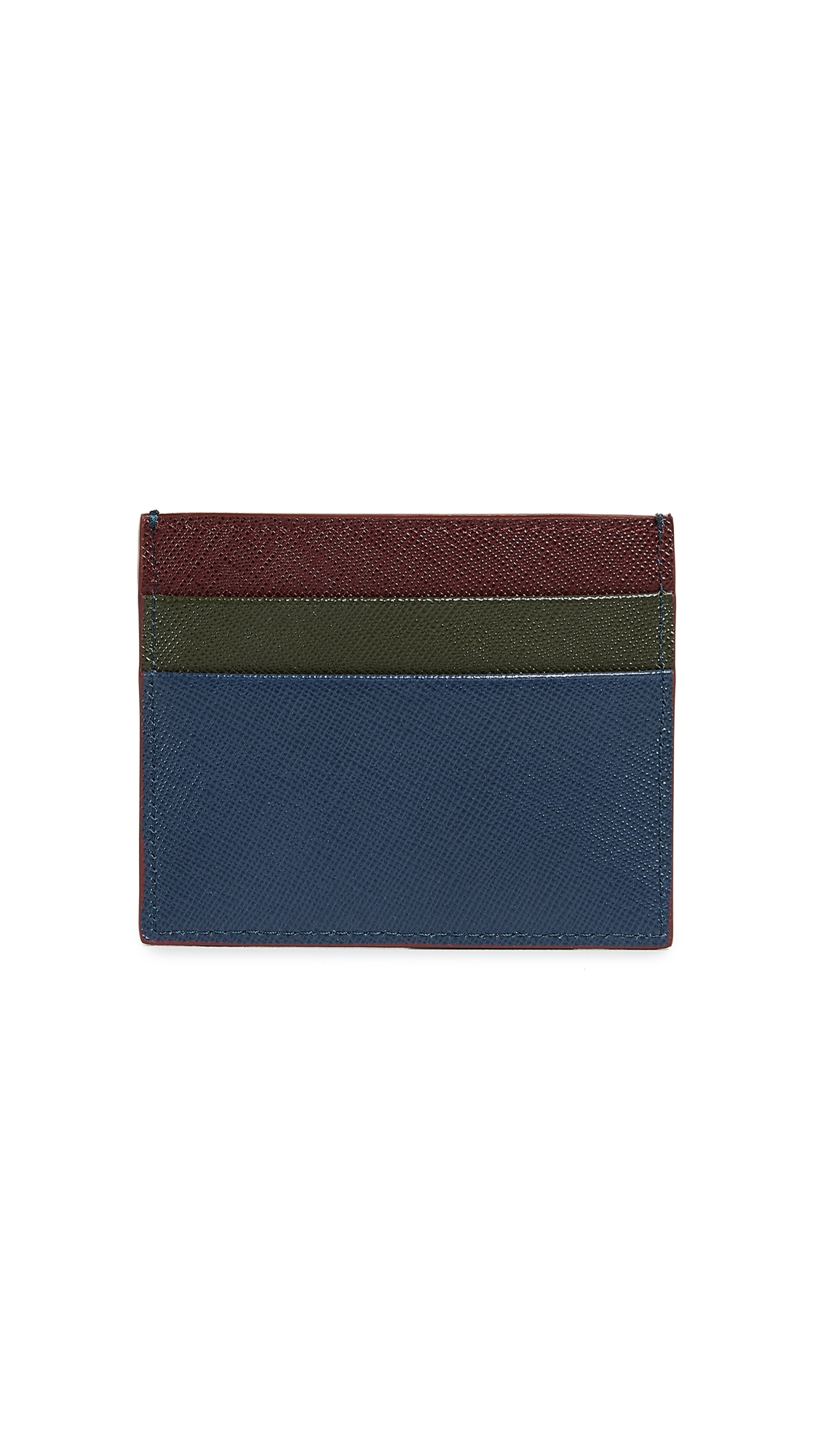 MARNI COLORBLOCK CARD CASE
