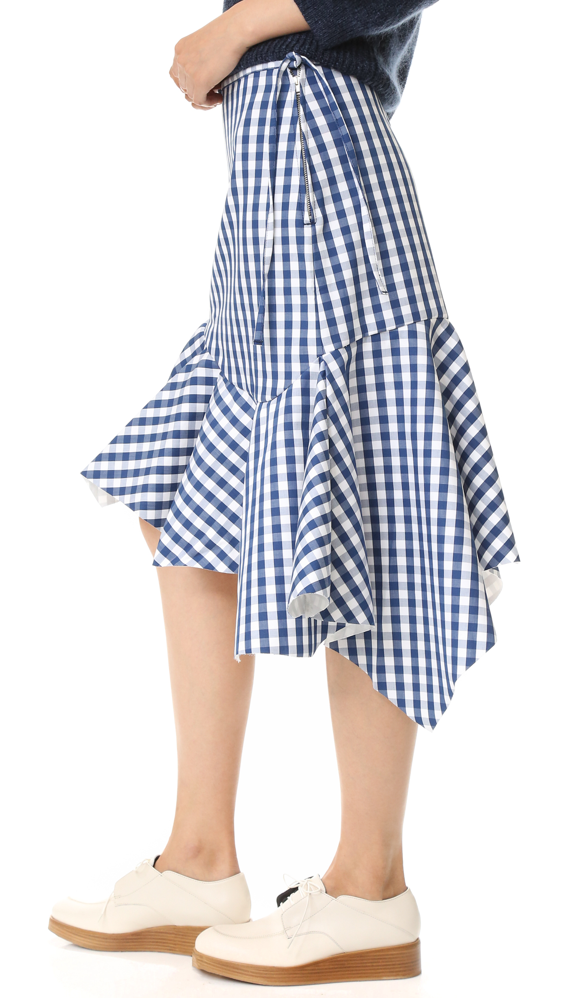 905d19968c Marques Almeida Gingham Skirt | SHOPBOP