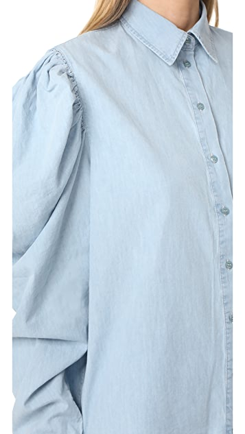 Marques Almeida Puff Sleeve Shirt