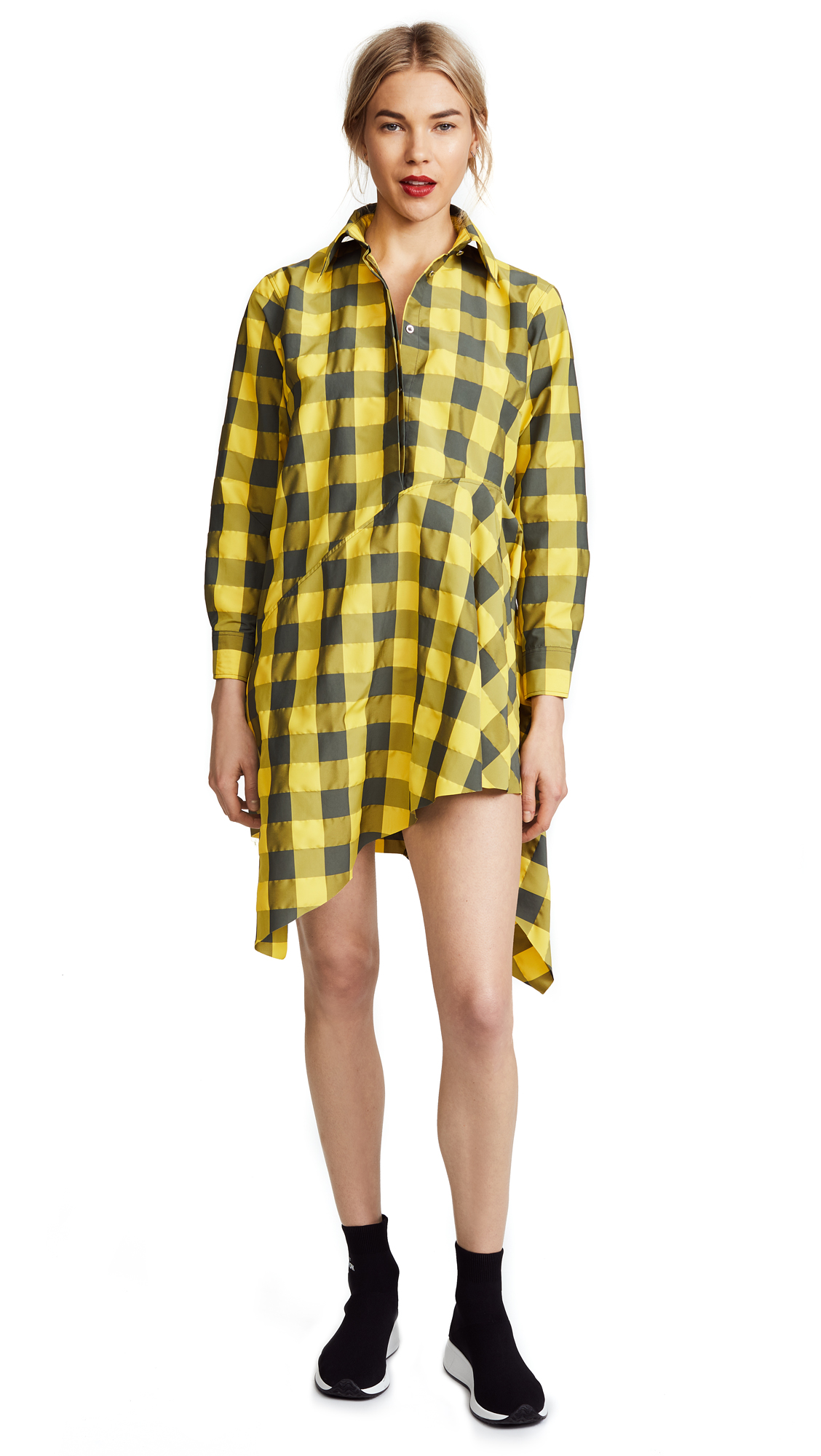 Marques Almeida Asymmetrical Shirtdress