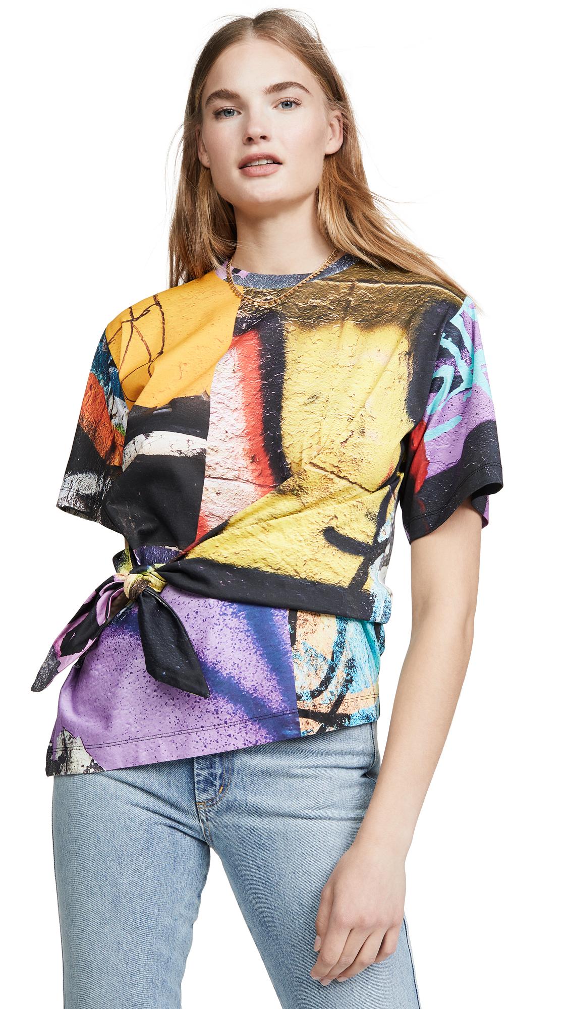 Buy Marques Almeida online - photo of Marques Almeida Knot T-Shirt