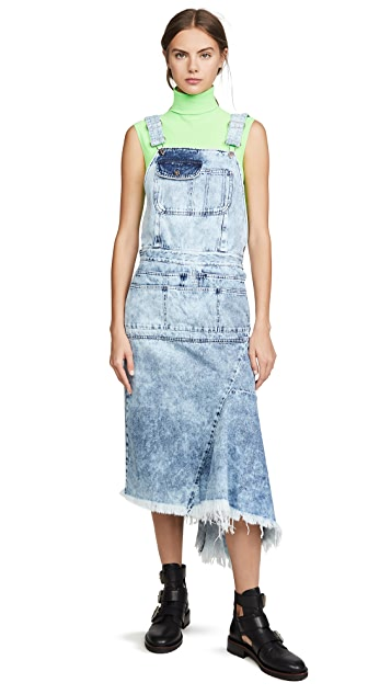 Marques Almeida Dungaree Dress