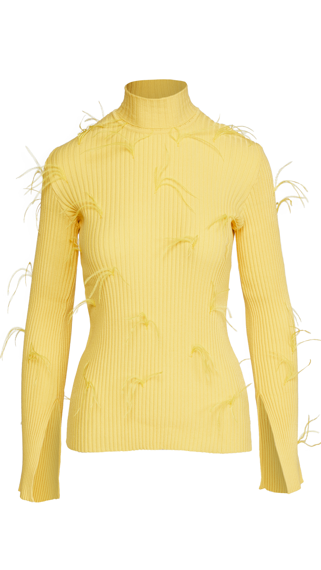 Marques Almeida Turtleneck Sweater with Flared Sleeves