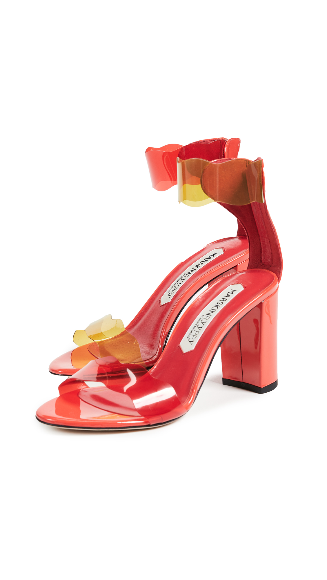 MARSKINRYYPPY Piwi Sandals - Indie Red/Red/Yellow