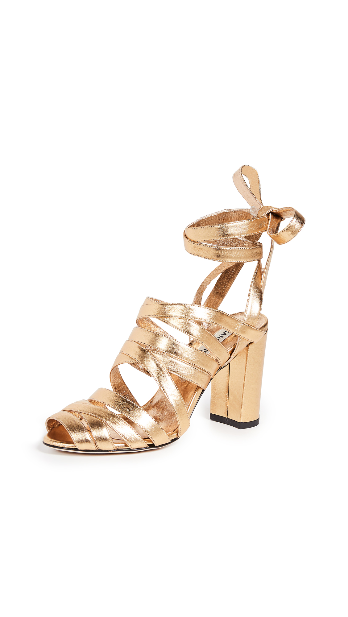 MARSKINRYYPPY Nadege Sandals - Gold