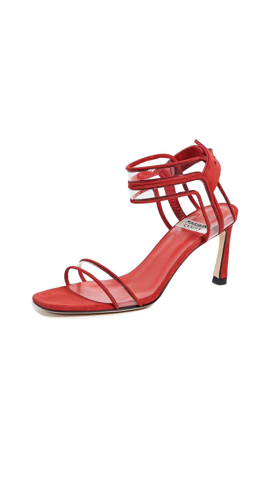 MARSKINRYYPPY Winona Sandals - Iron Red