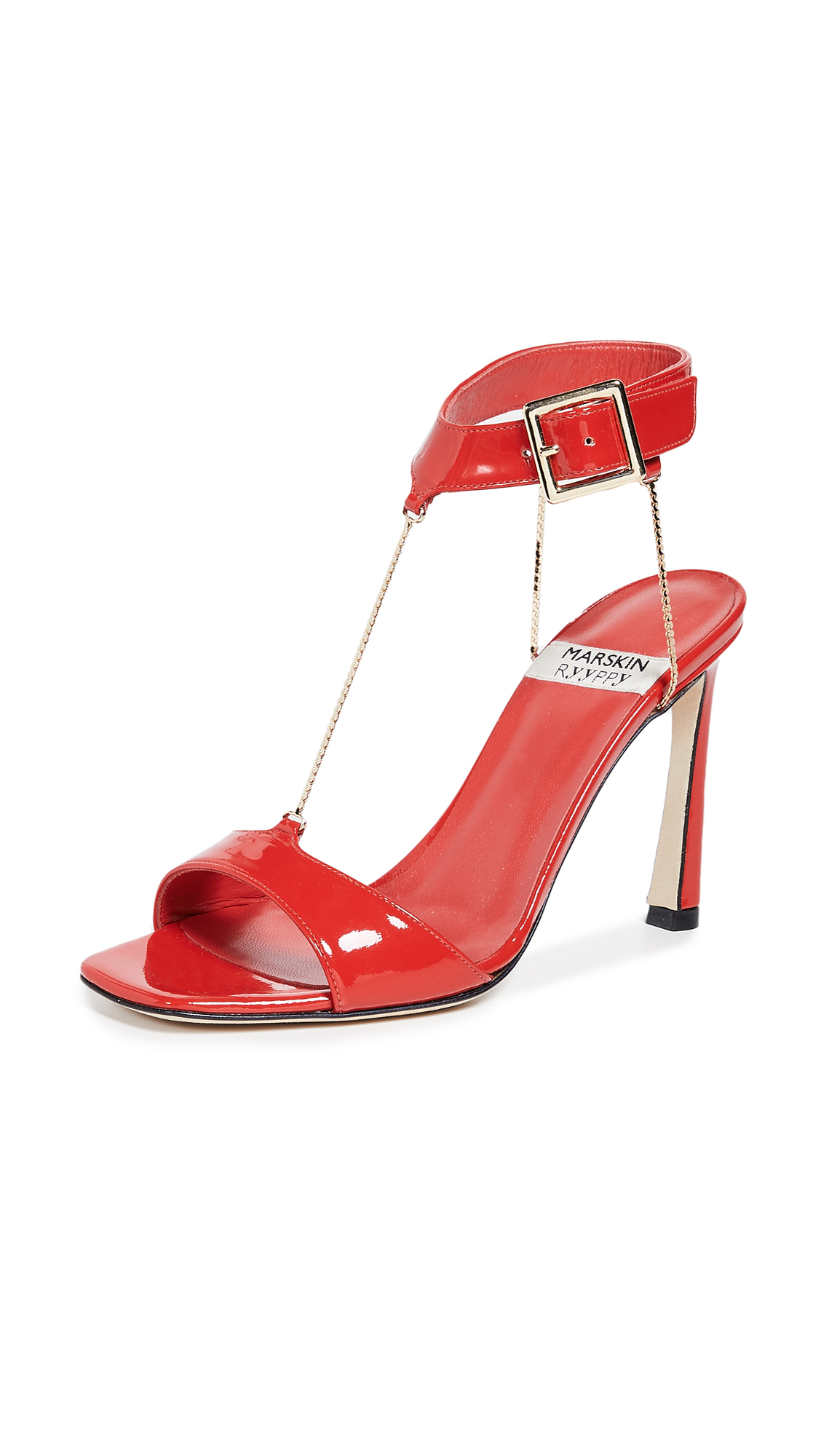 MARSKINRYYPPY Ember Sandals - Adrenaline Red