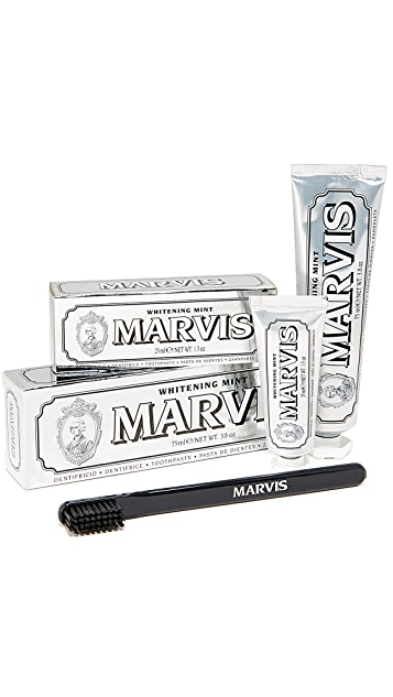 Marvis Whitening Mint & Toothbrush Set