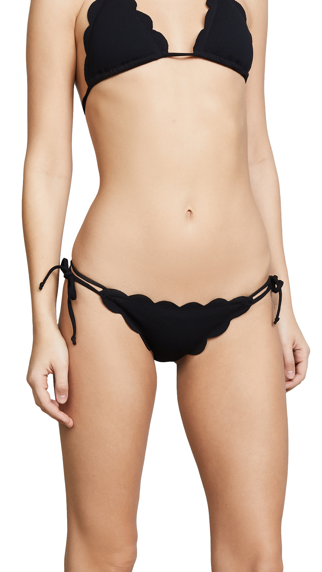 Marysia Swim Mott Scallop Bikini Bottoms